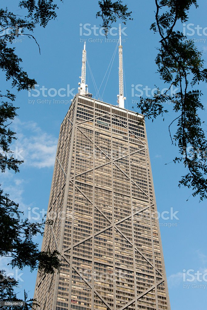 John Hancock Building stock photo