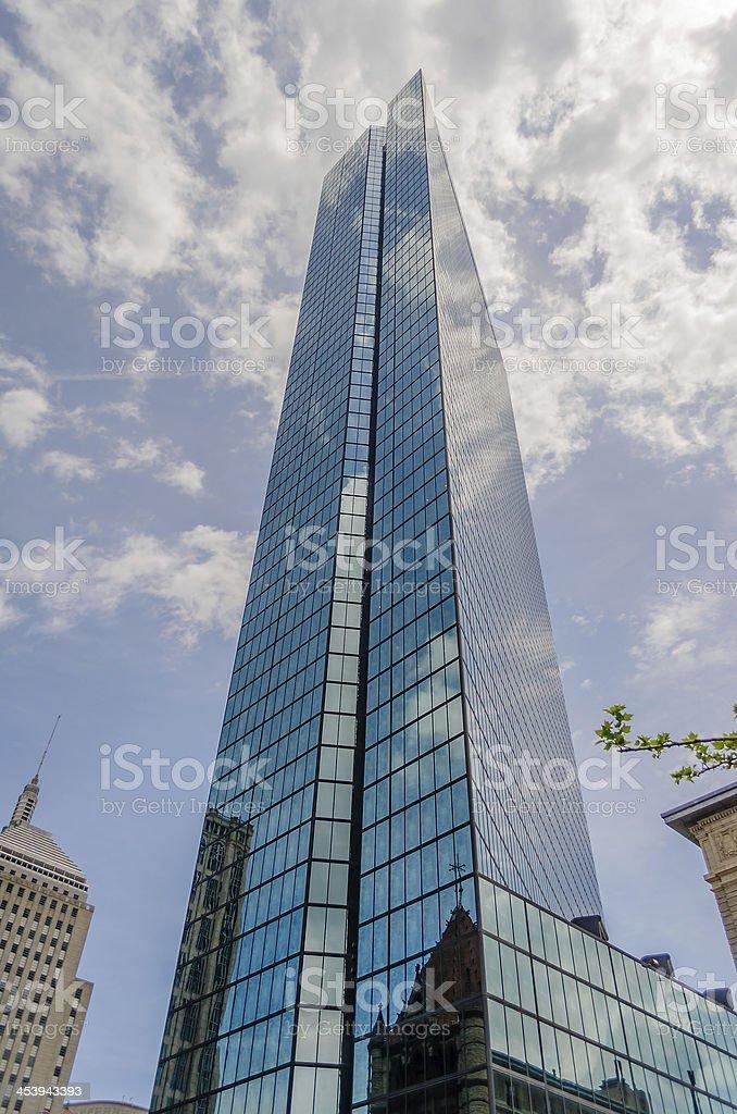 John Hancock Tower royalty-free stock photo