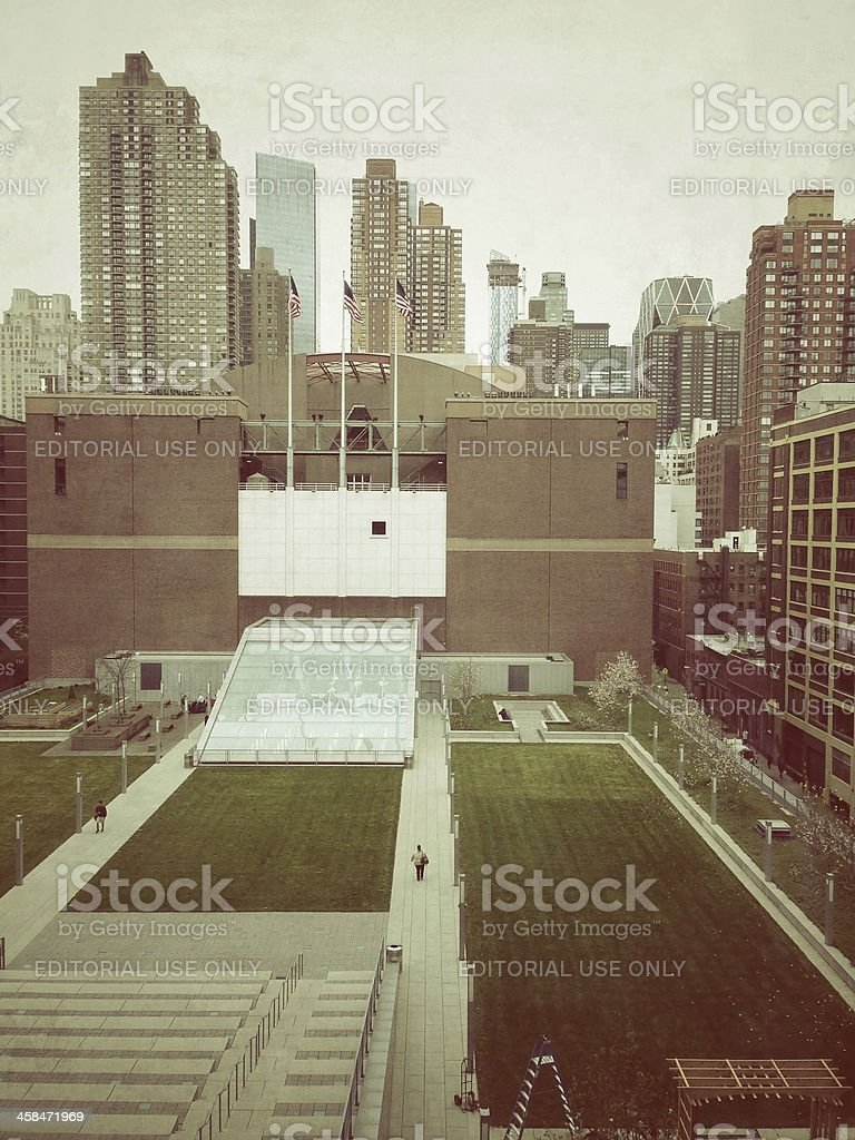 John Jay College of Criminal Justice in New York City royalty-free stock photo