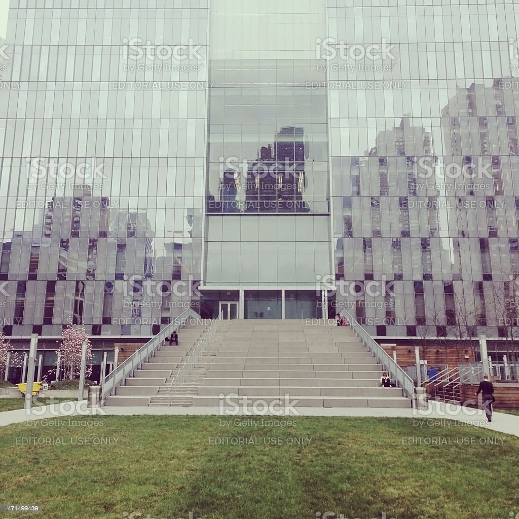 John Jay College of Criminal Justice in New York City stock photo