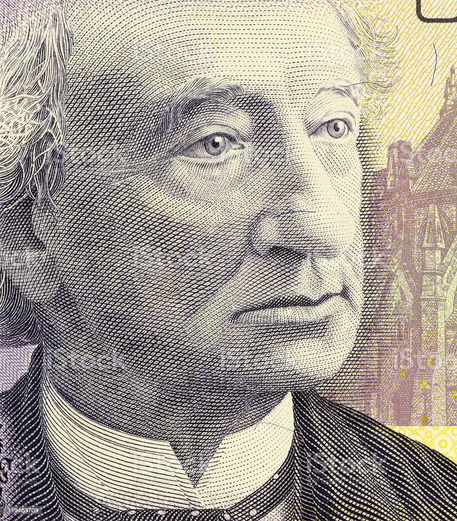 John Macdonald stock photo
