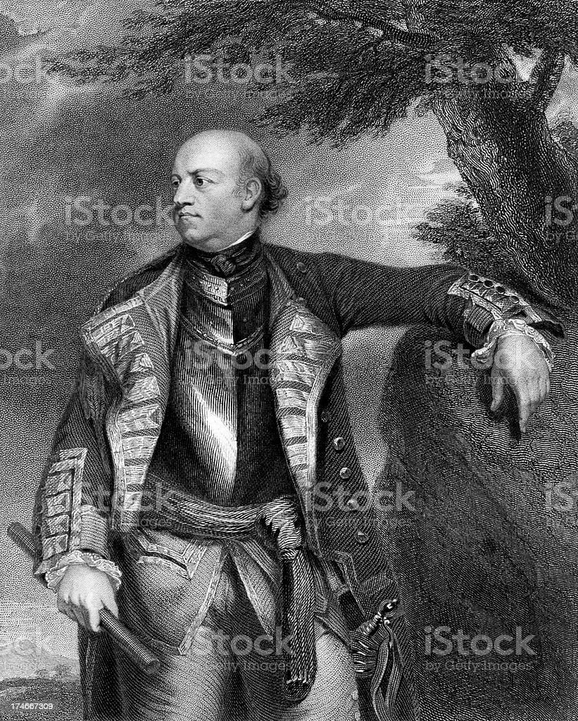 John Manners, Marquess of Granby stock photo