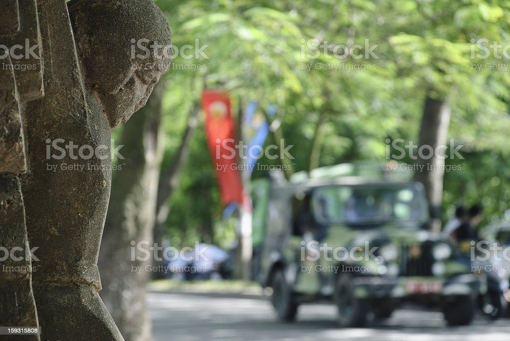 John McCain monument in Hanoi stock photo