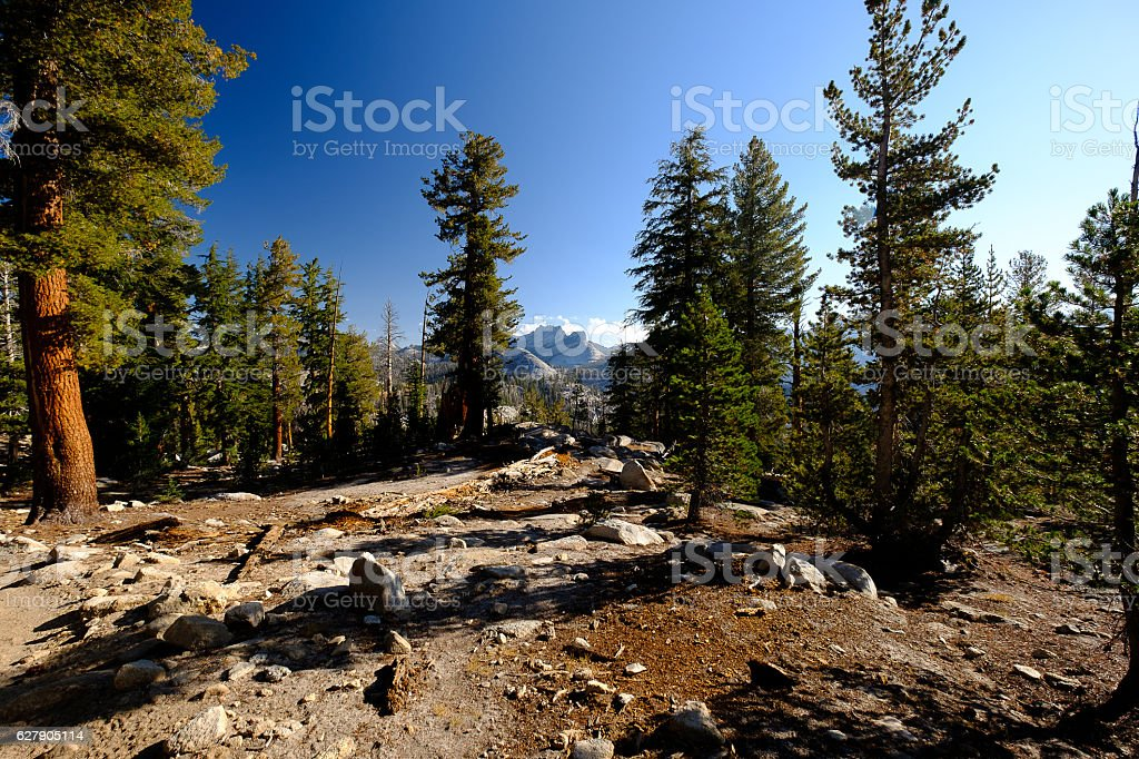 John Muir Trail stock photo
