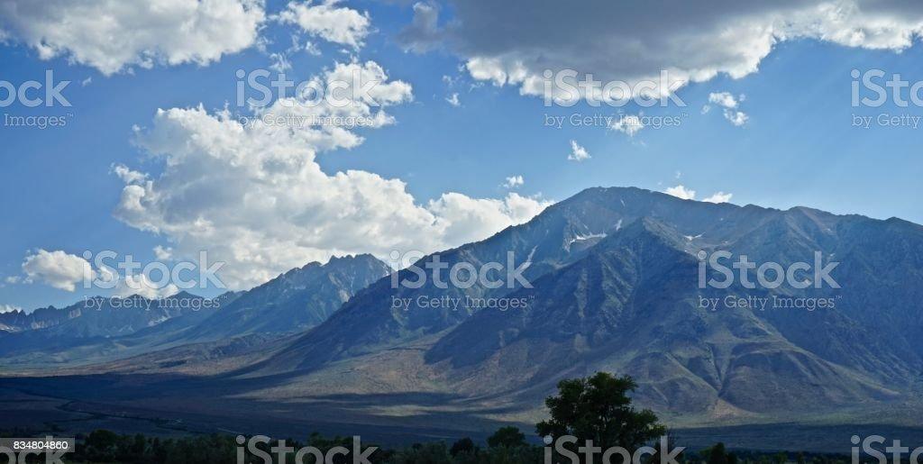 John Muir Wilderness Afternoon stock photo