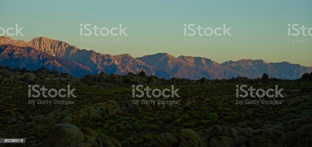 John Muir Wilderness Angle stock photo