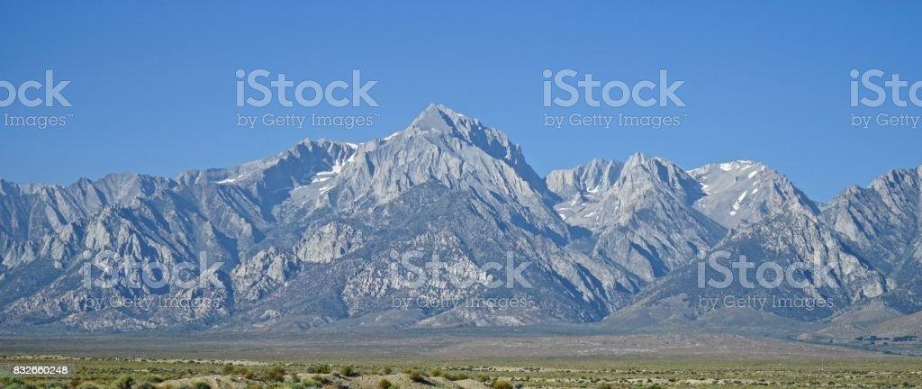 John Muir Wilderness Peak stock photo