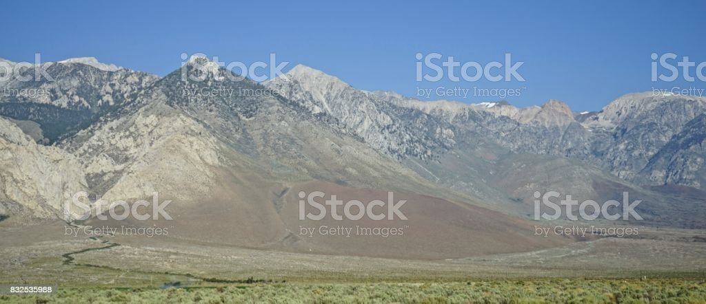 John Muir Wilderness stock photo
