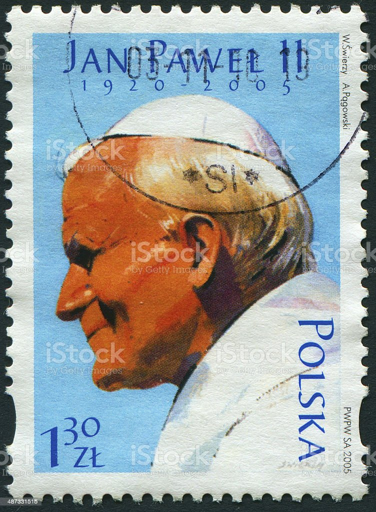 John Paul II stock photo