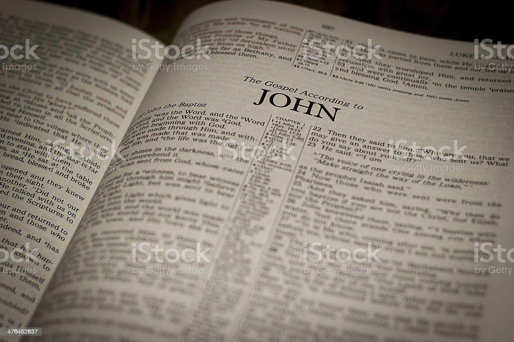 John stock photo