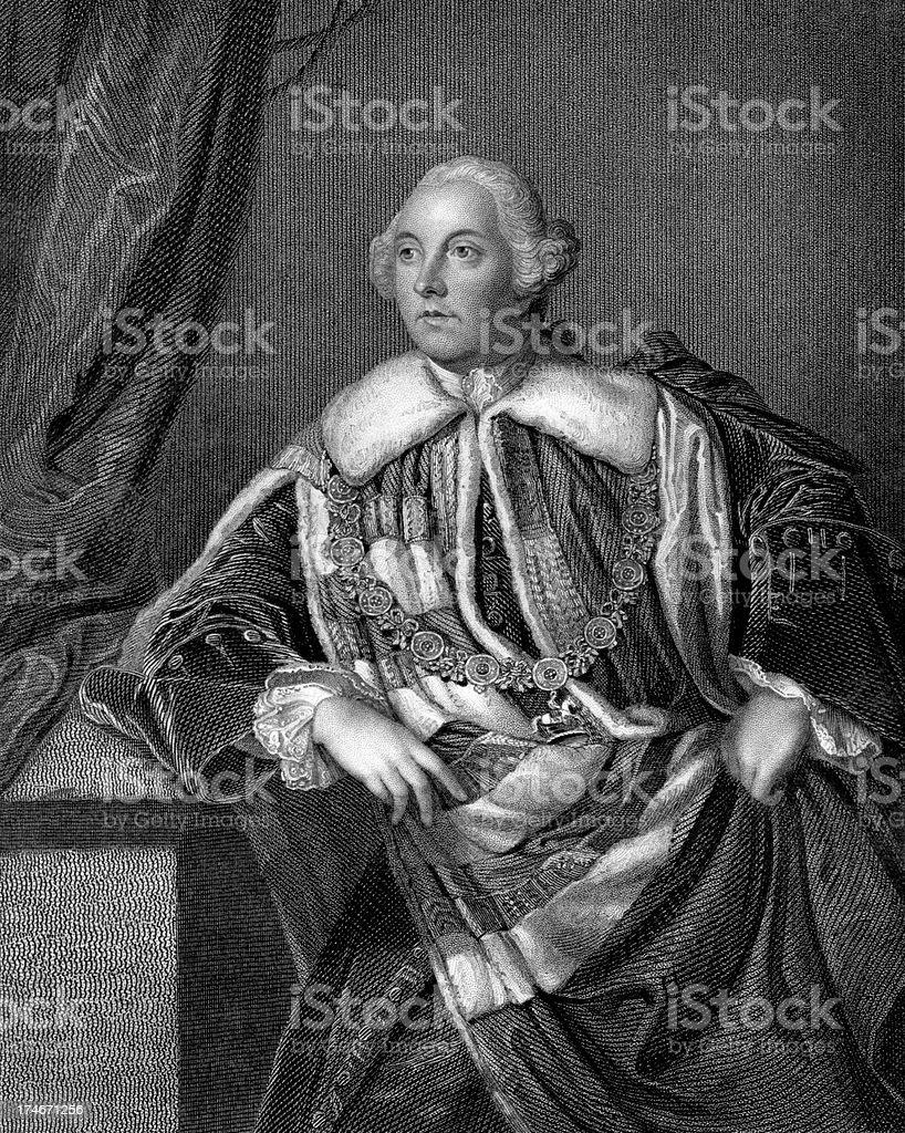 'John Russell, 4th Duke of Bedford' stock photo