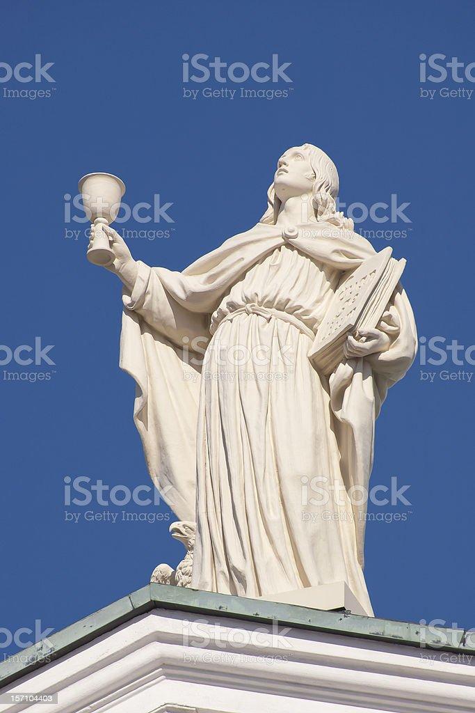 John the Apostle stock photo