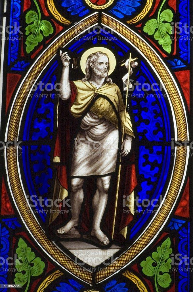 John the Baptist royalty-free stock photo