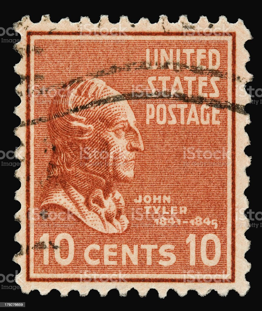 John Tyler 1938 stock photo
