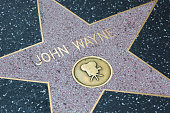 John Wayne star on the Hollywood Walk of Fame