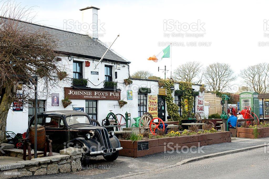 Johnnie Fox Pub, Dublin Mountains stock photo