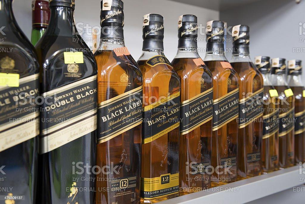 Johnnie Walker stock photo