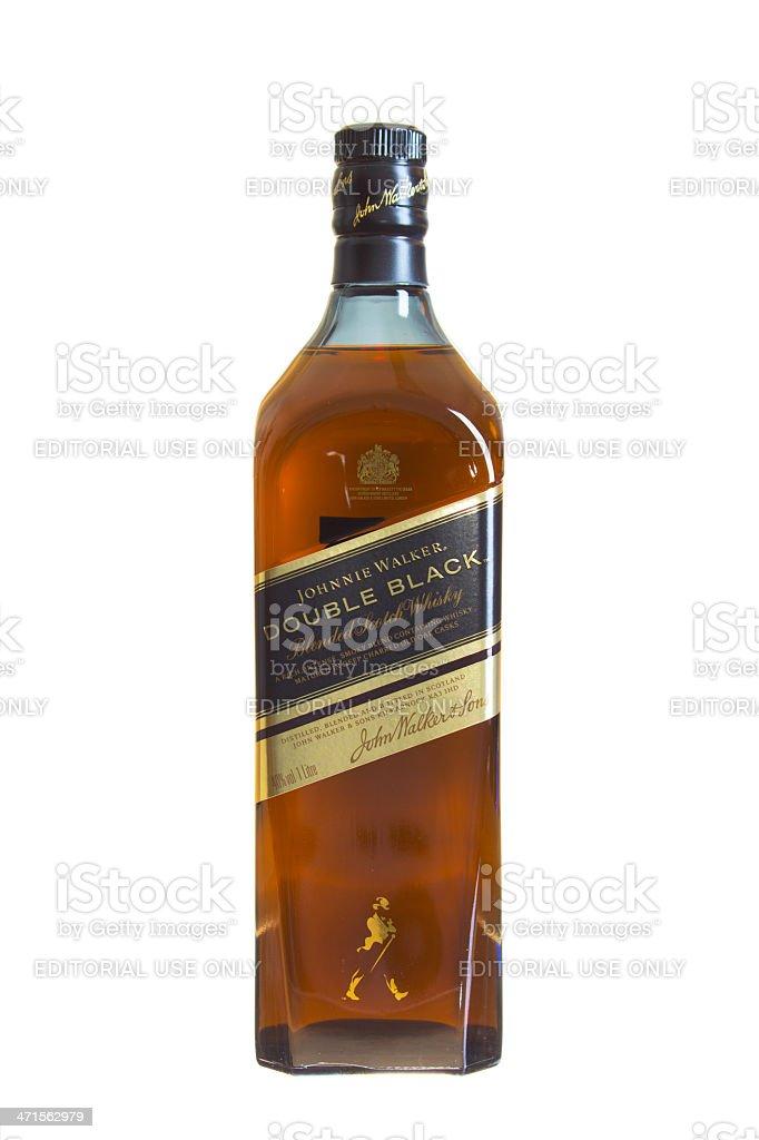 Johnnie Walker Scotch Whisky royalty-free stock photo