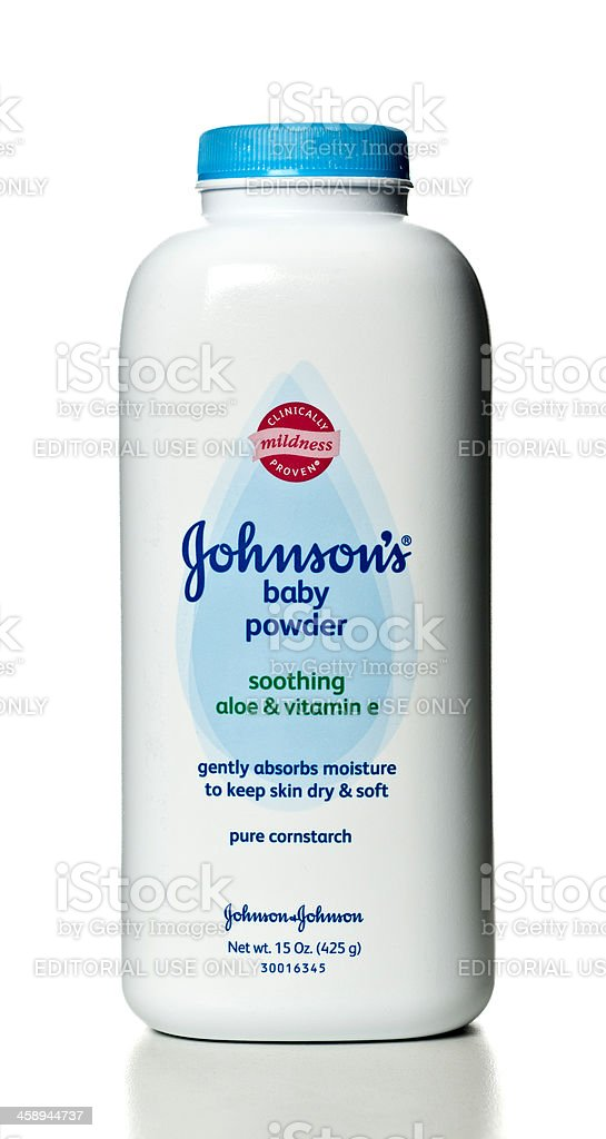 Johnsons Baby Powder stock photo