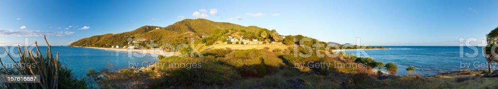 Johnson's Point, Antigua royalty-free stock photo