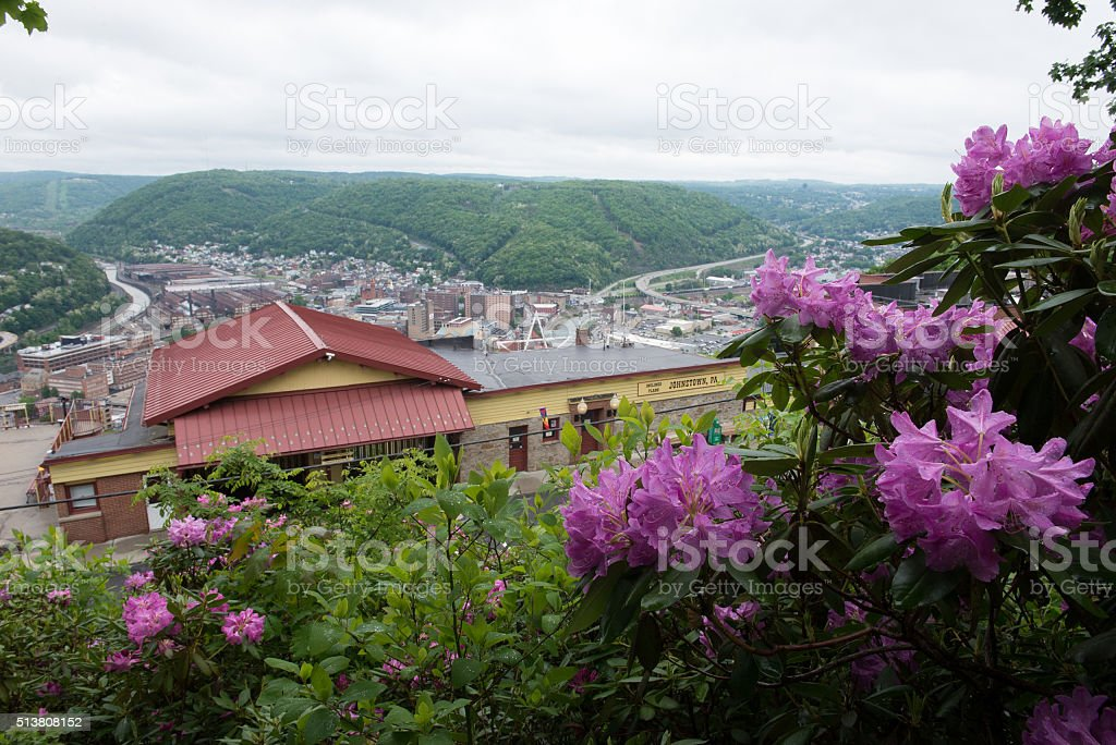 Johnstown Pennsylvania Incline Plane stock photo