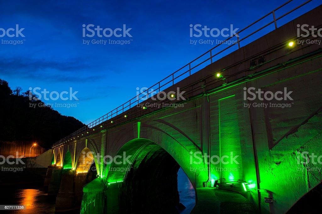 Johnstown Stone Bridge stock photo