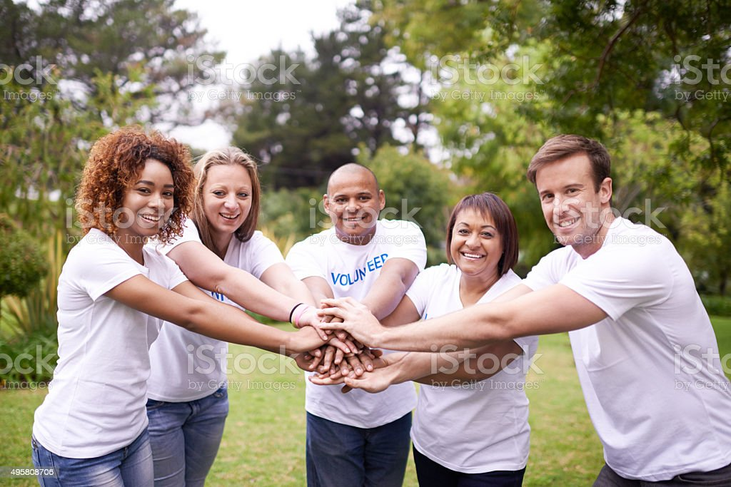 Join our team? stock photo