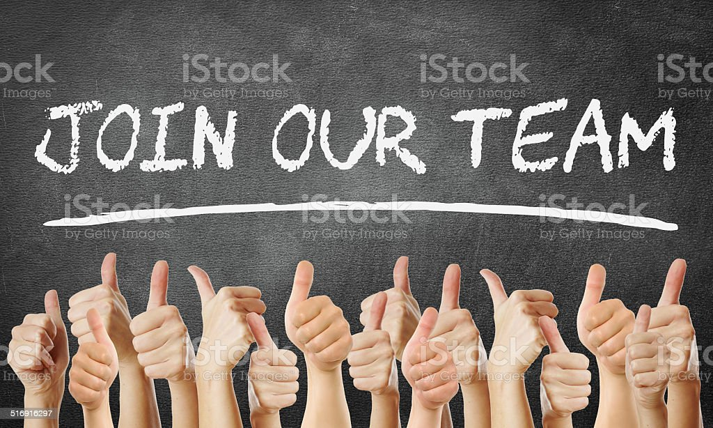 Join our Team stock photo