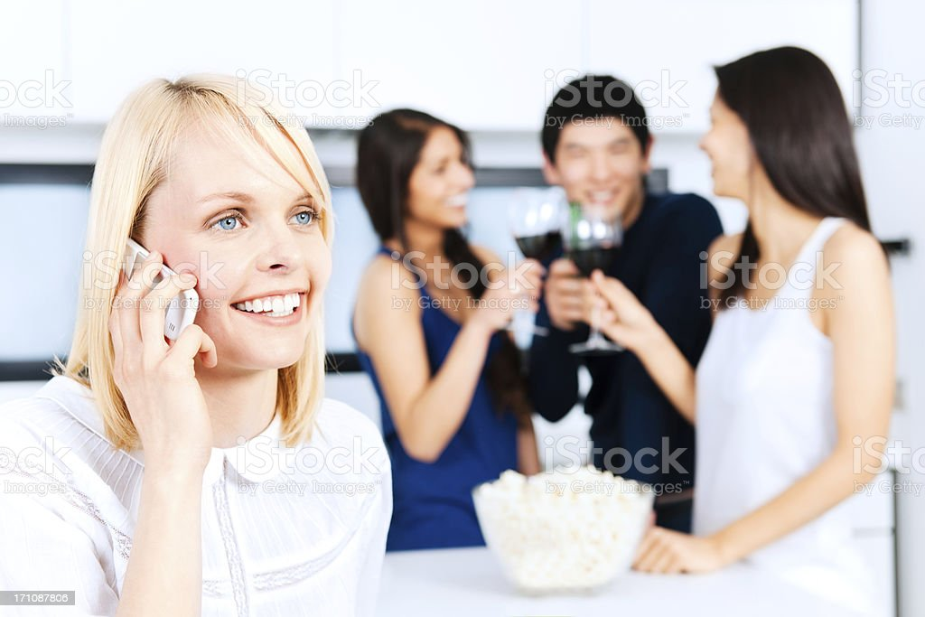 Join the party stock photo