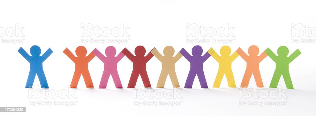 Join up! stock photo