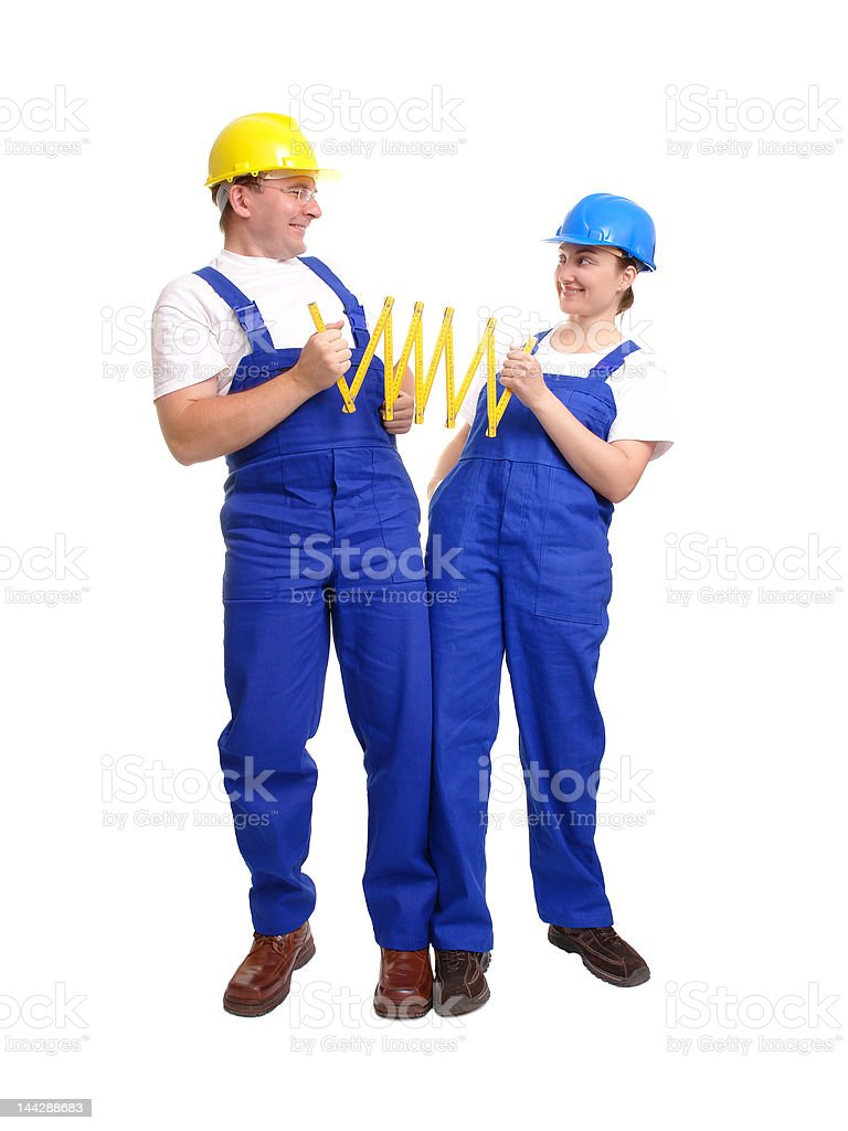 Joint measurement royalty-free stock photo