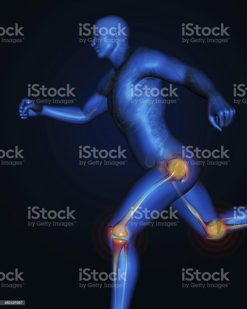 Joint pain stock photo