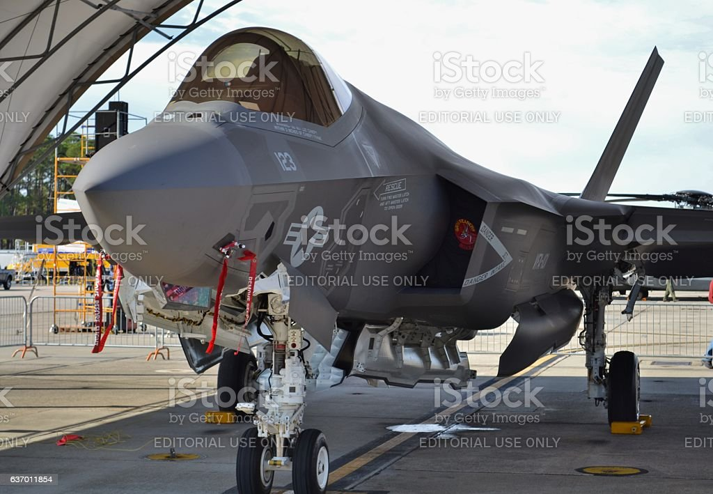 F-35 Joint Strike Fighter stock photo