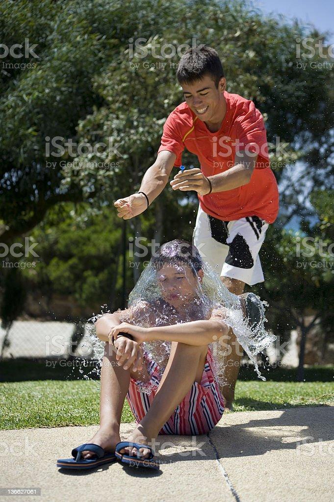 Joke stock photo