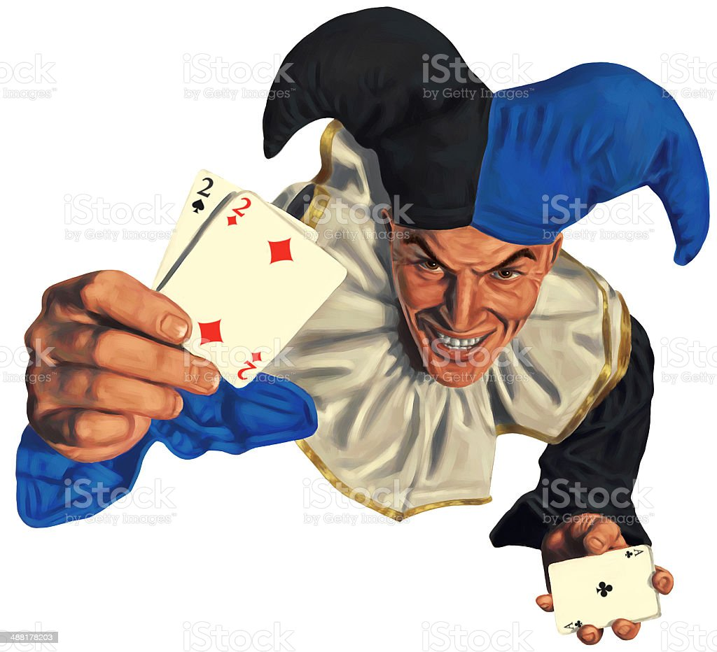 Joker stock photo