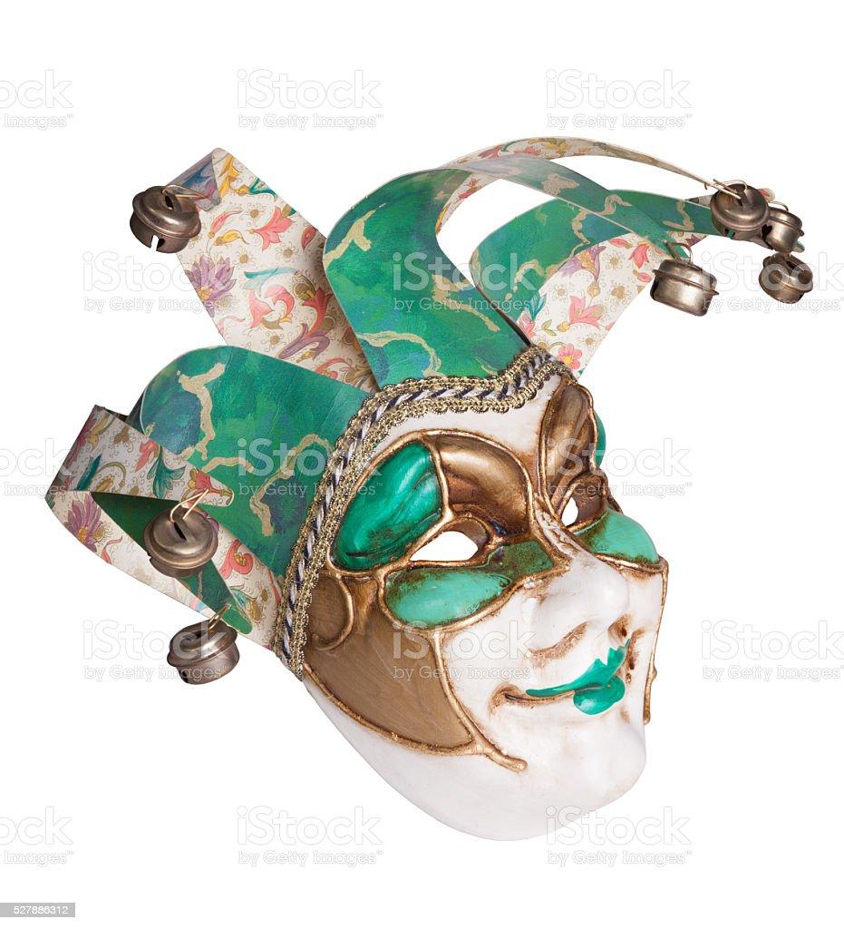 Joker venice mask stock photo