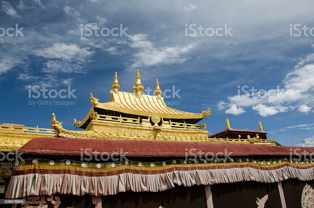 Jokhang temple stock photo
