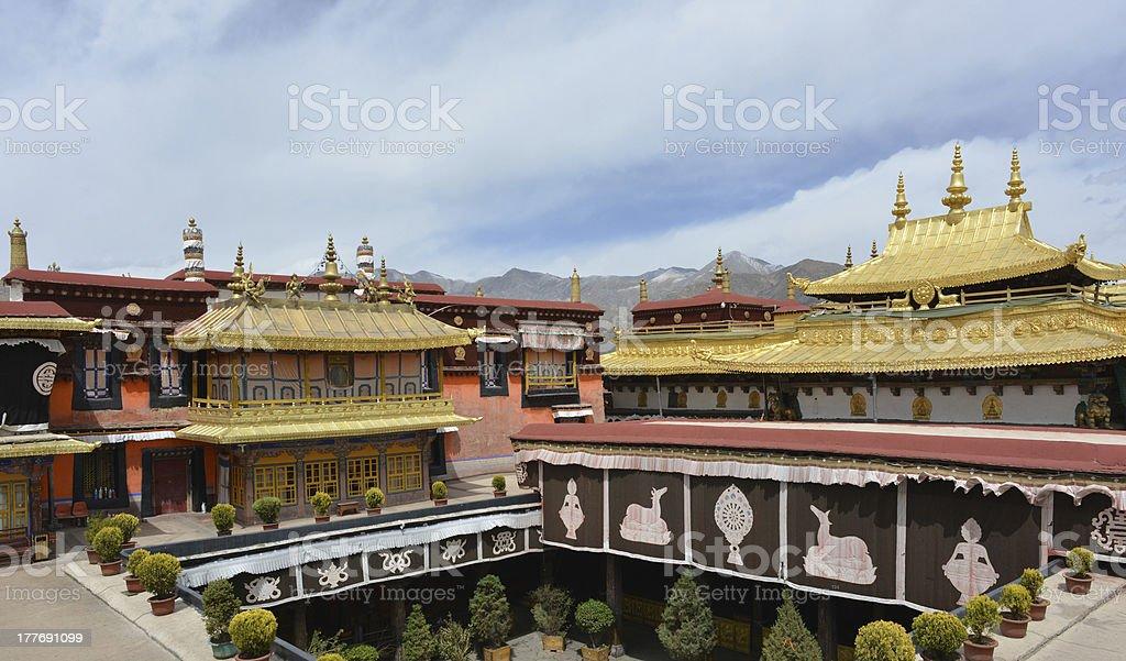 Jokhang Temple, Tibet stock photo