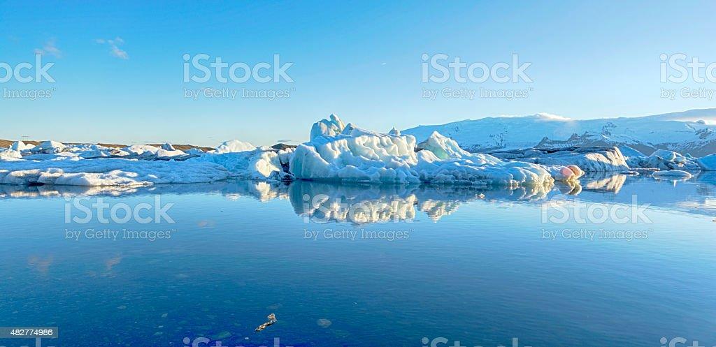 Jokulsarlon Glacier Lagoon Iceland stock photo