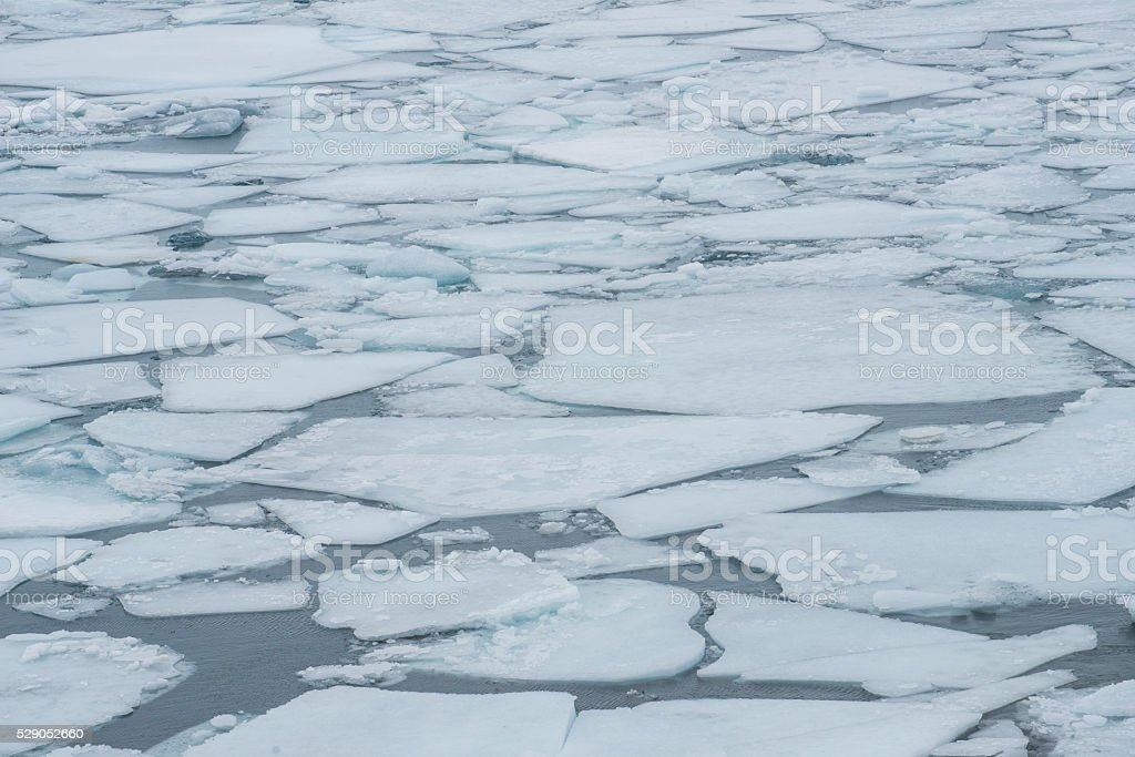 Jokulsarlon glacier lagoon of Vatnajokull national park Iceland. stock photo