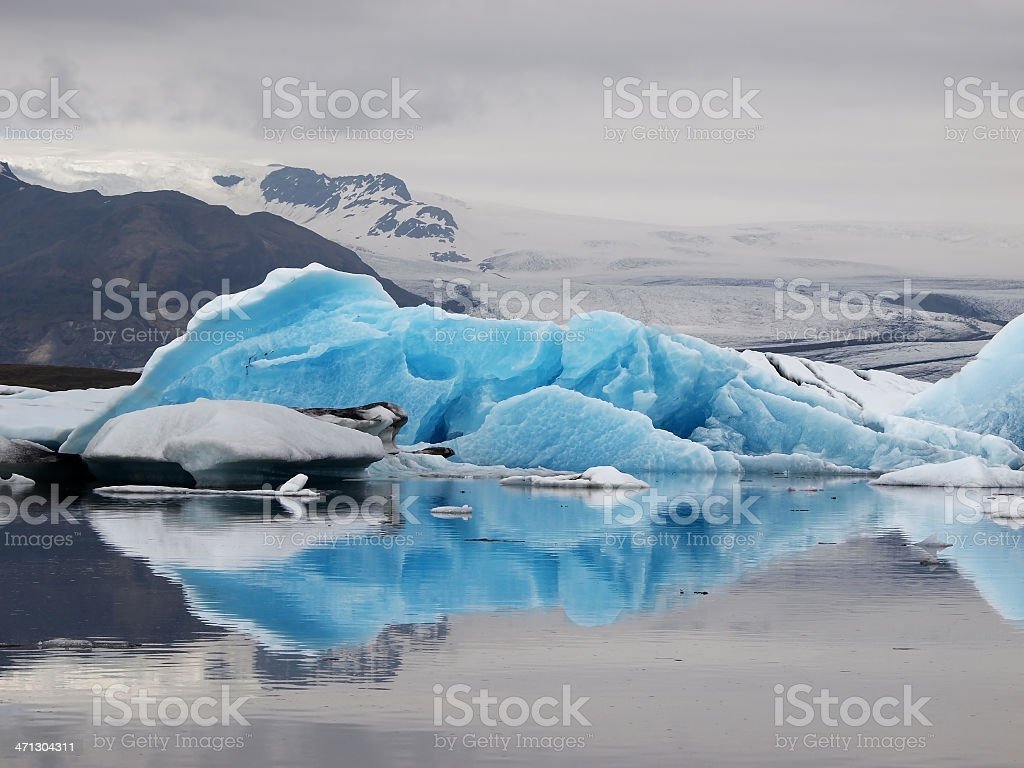 Jokulsarlon Glacier Lake royalty-free stock photo