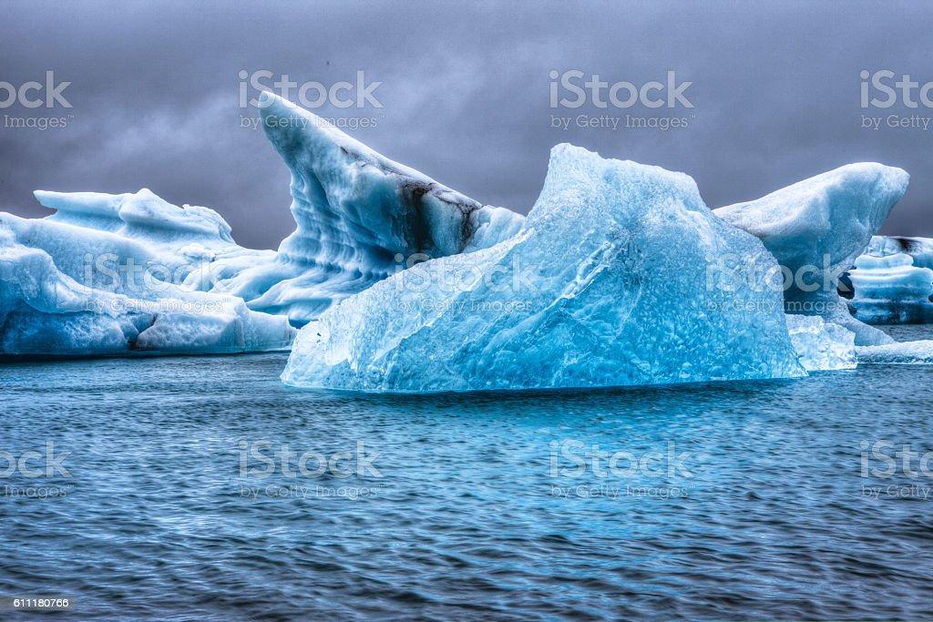 Jokulsarlon, Iceland stock photo