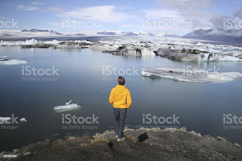 Jokulsarlon lagoon royalty-free stock photo