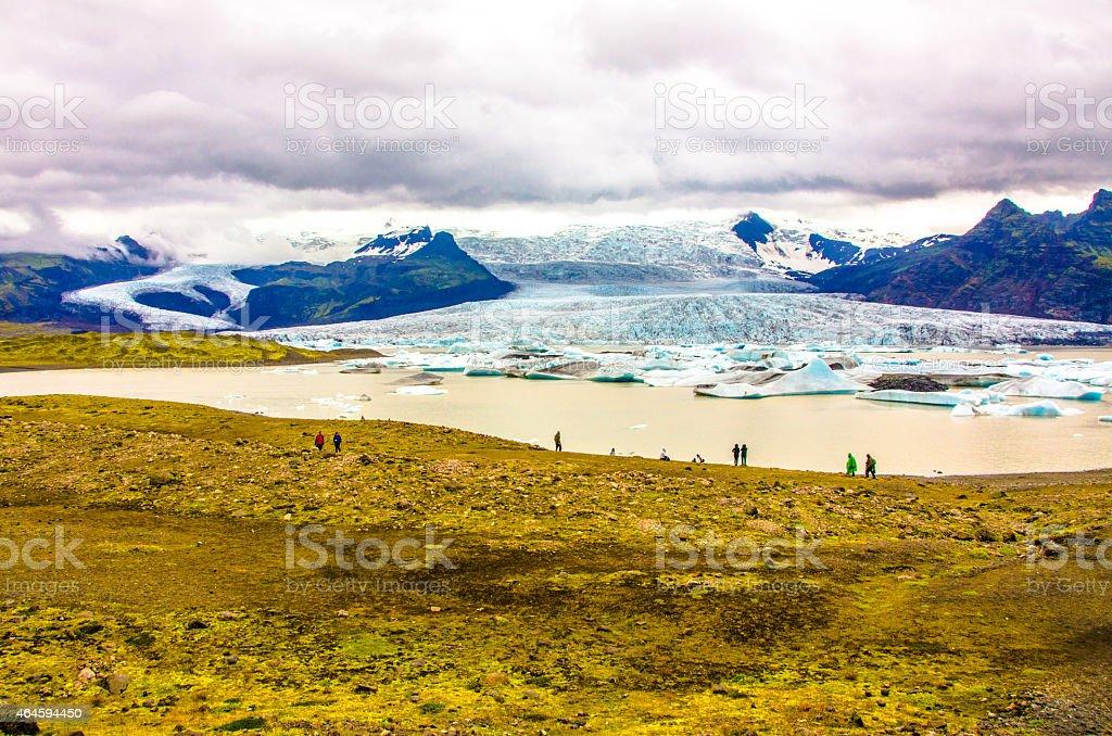 Jokursarlon - Iceland - Glacier Lake stock photo