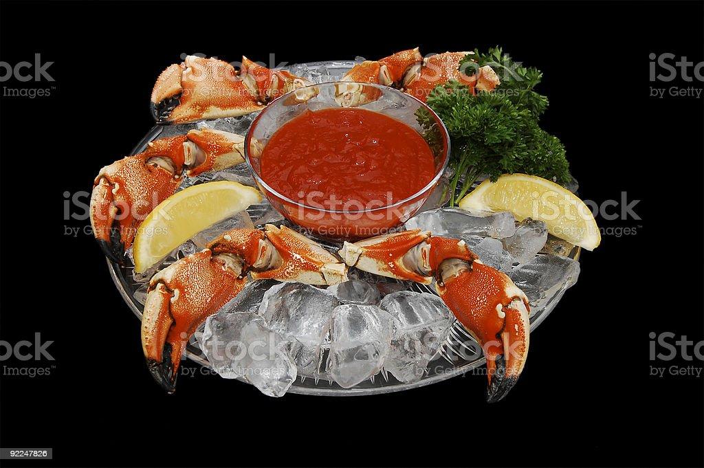 Jonah Crab Claws stock photo
