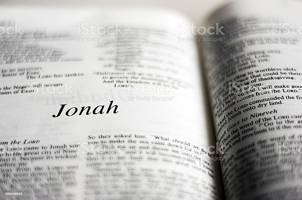 Jonah stock photo
