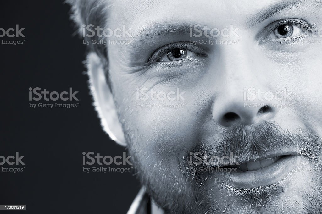 Jonas smiling royalty-free stock photo