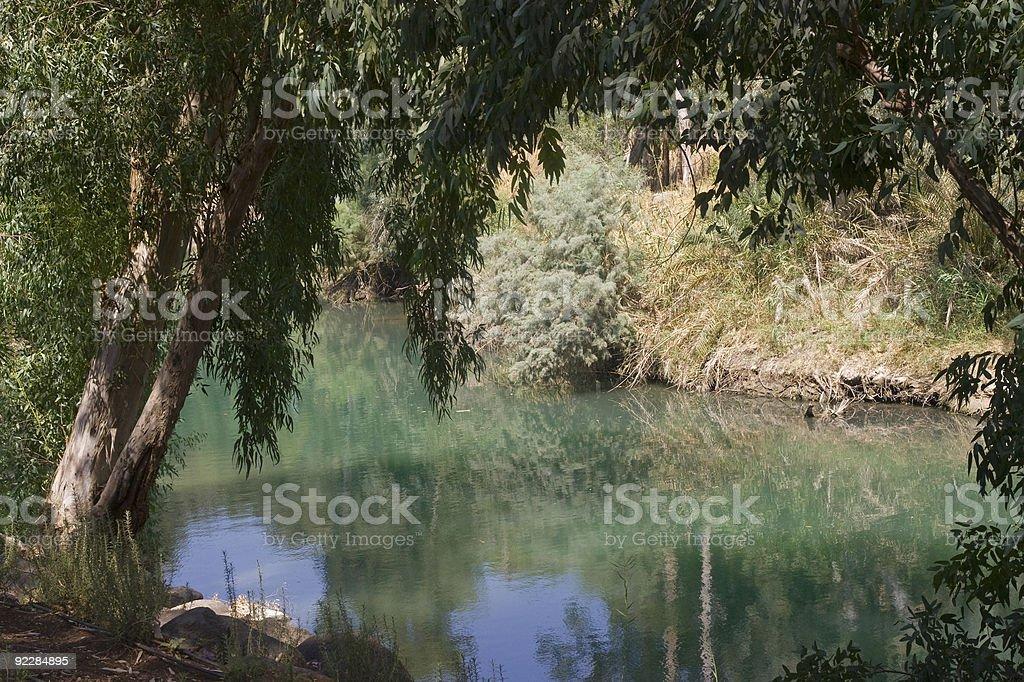 Jordan river royalty-free stock photo
