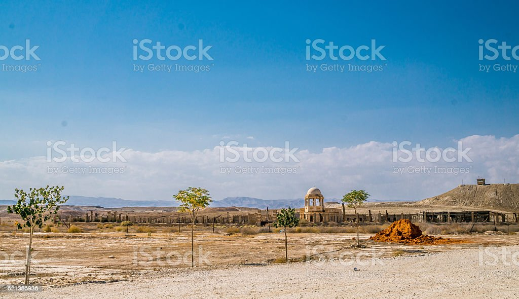 Jordan valley stock photo