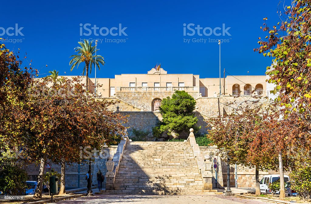 Jorge Juan Secondary Education Institute in Alicante, Spain stock photo